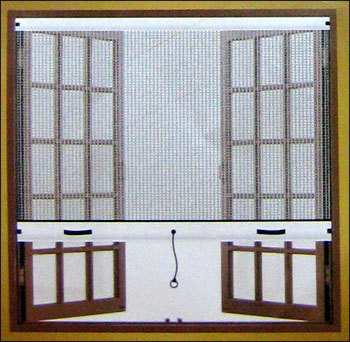 Roller Insect Screen Windows in India
